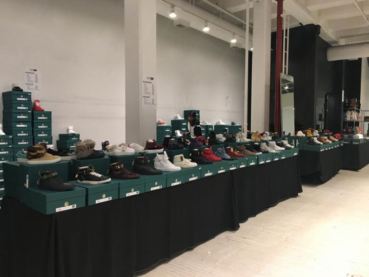 Buscemi Sample Sale Footwear