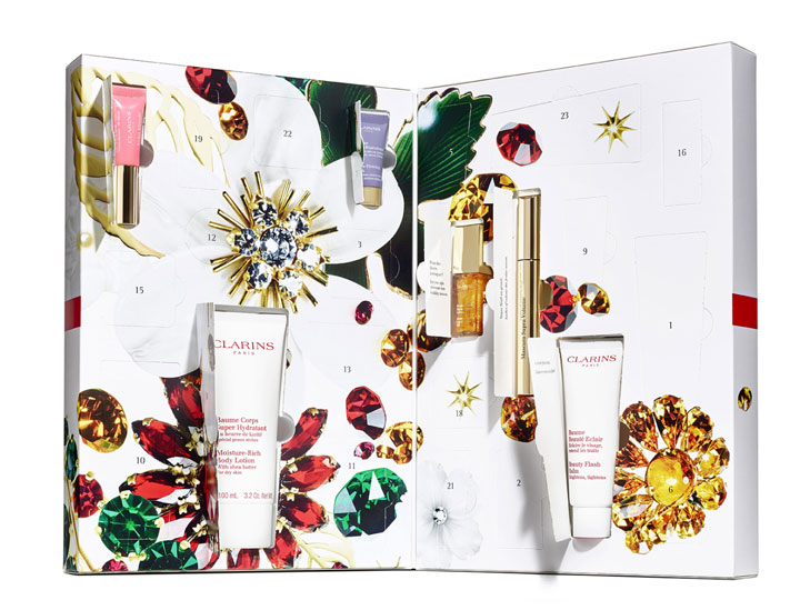 The 2017 Advent Calendar for Beauty Believers Compliments of Clarins