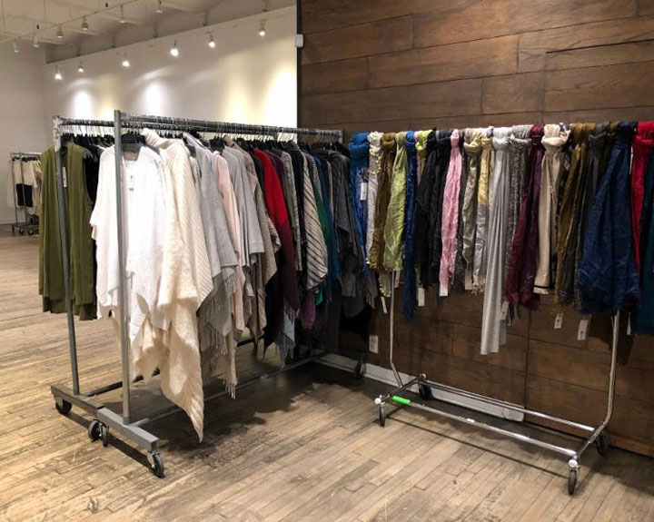 Pics from Inside the Eileen Fisher Sample Sale