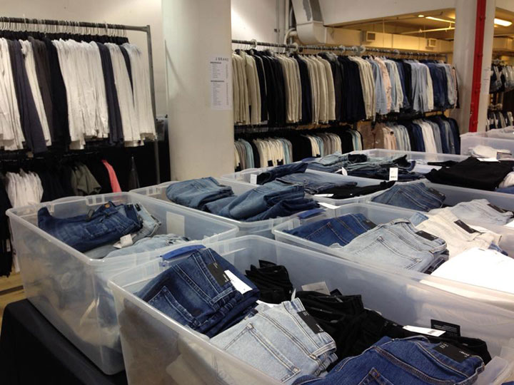 J Brand Sample Sale Jeans
