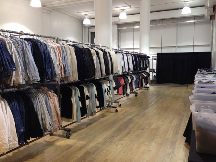 J Brand Sample Sale Shirts
