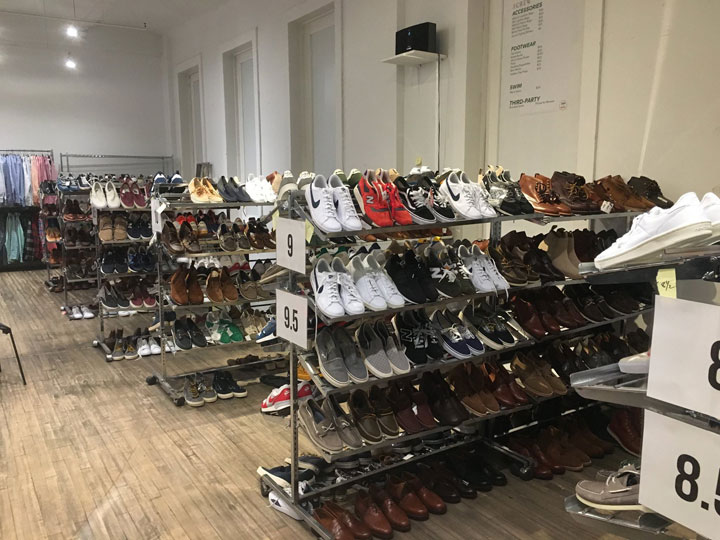J.Crew Men's Sample Sale Footwear