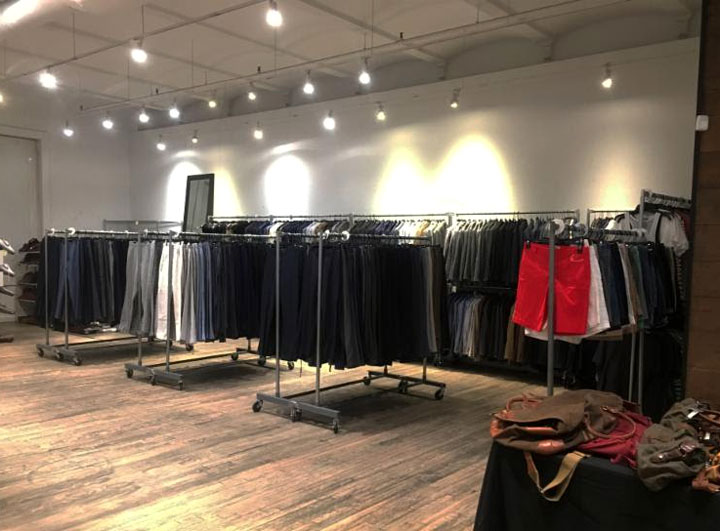 Pics from Inside the J.Crew Men's Sample Sale