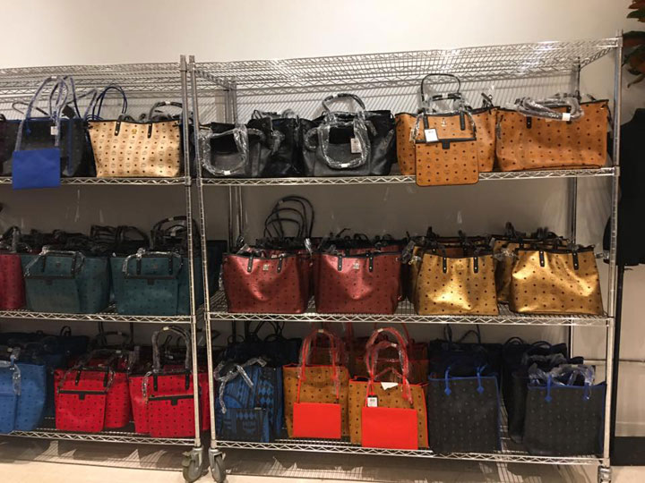 MCM Sample Sale Handbags
