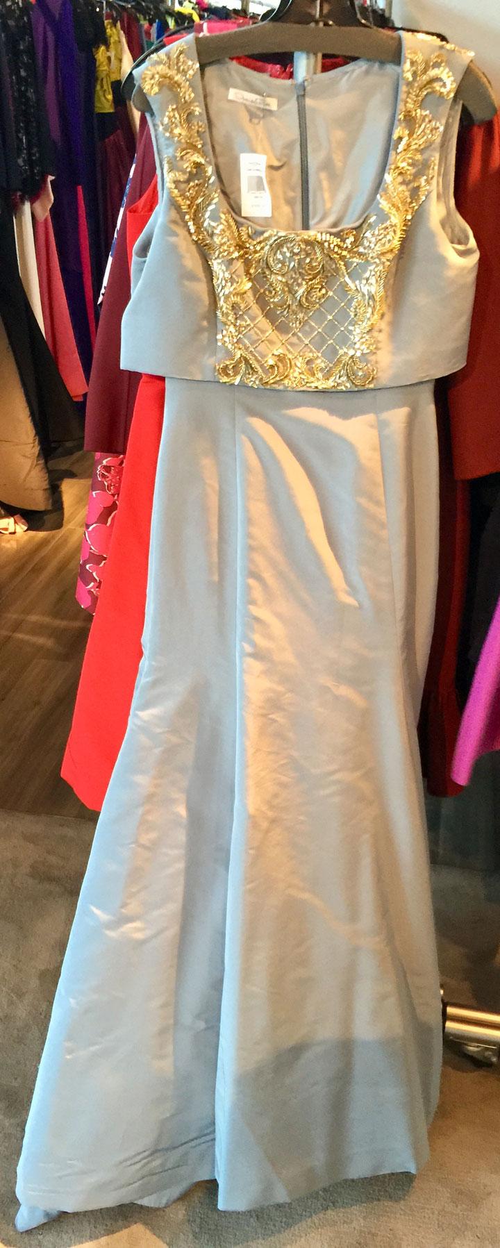 Oscar de la Renta LA Sample Sale Gown