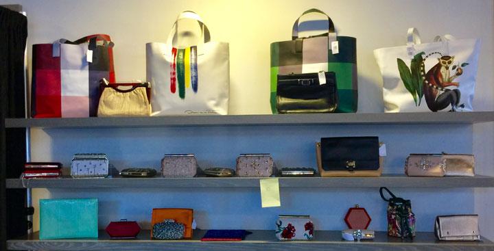 Oscar de la Renta LA Sample Sale Handbags