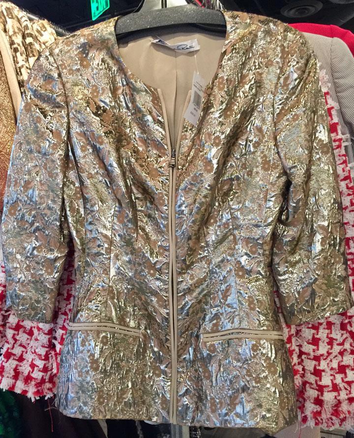 Oscar de la Renta LA Sample Sale Jacket