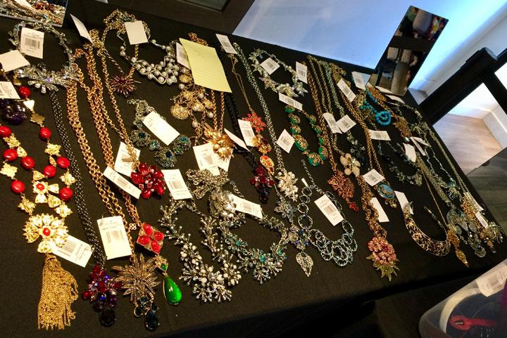 Oscar de la Renta LA Sample Sale Jewelry