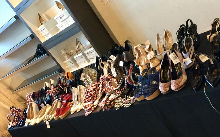 Oscar de la Renta LA Sample Sale Shoes