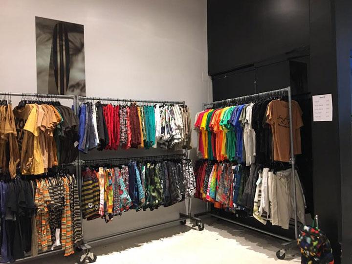 Osklen Sample Sale Tees Shorts
