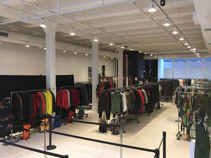 Pics from Inside the Osklen Sample Sale