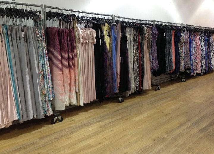 Parker Sample Sale Gowns