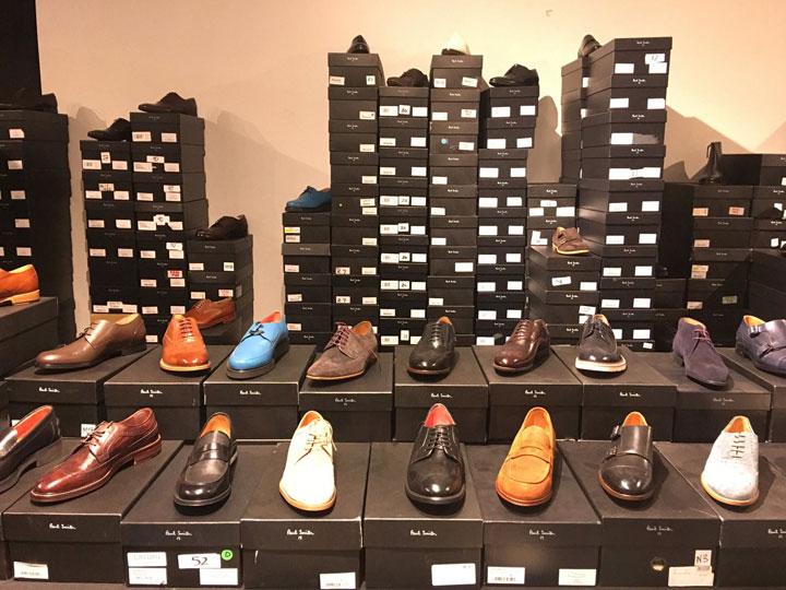 Paul Smith Sample Sale Men's Footwear