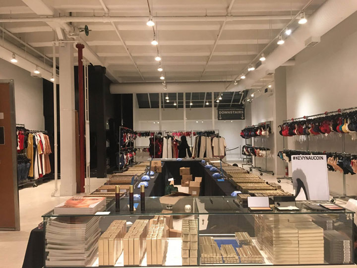 Pics from Inside the Kevyn Aucoin Sample Sale