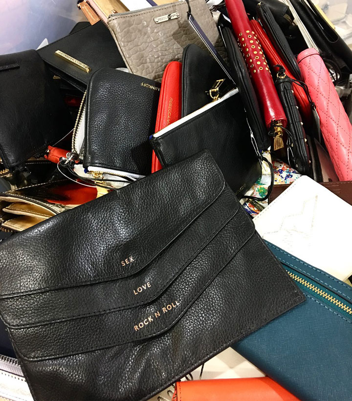 Rebecca Minkoff Sample Sale Accessories