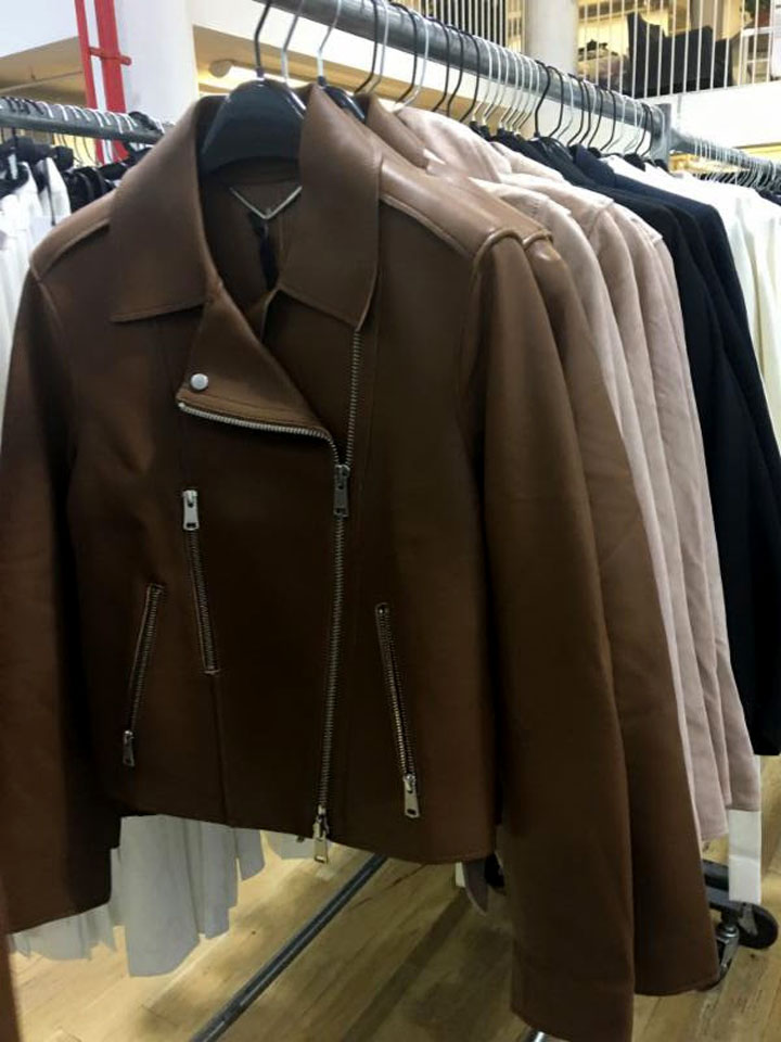 Reiss London Sample Sale Leather Jacket