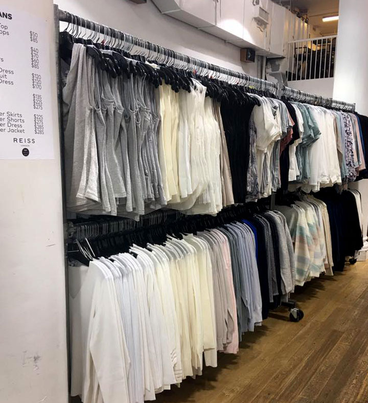 Reiss London Sample Sale Tops