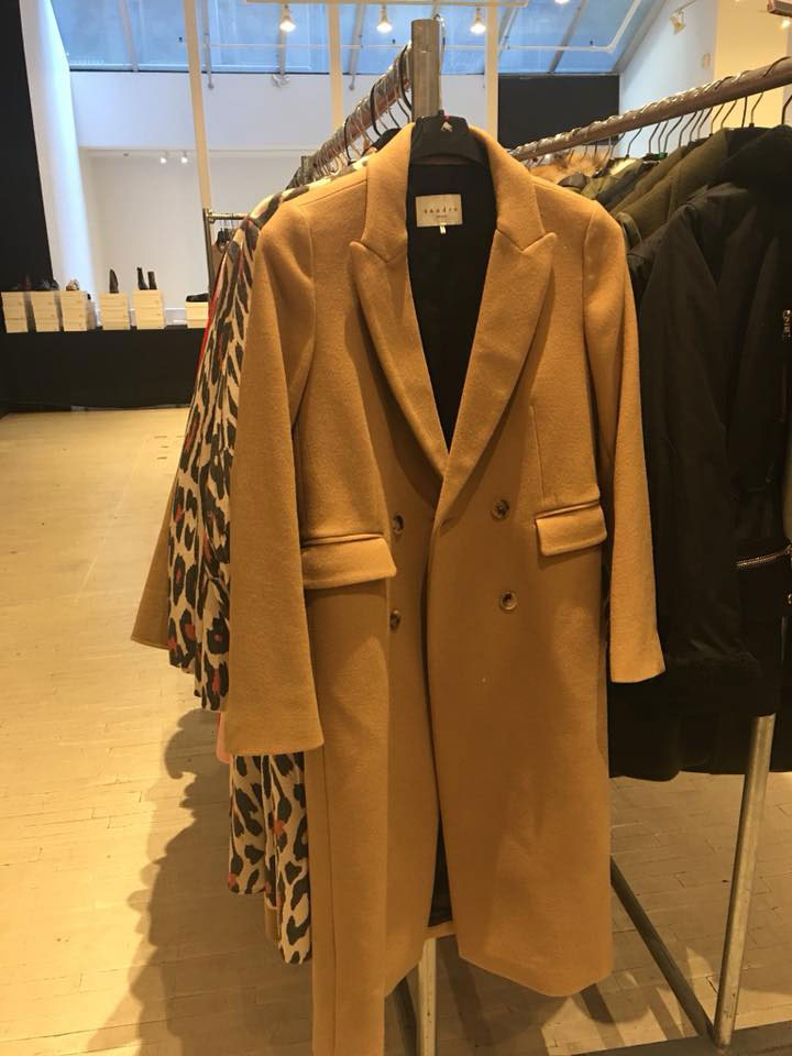Sandro Sample Sale Coats