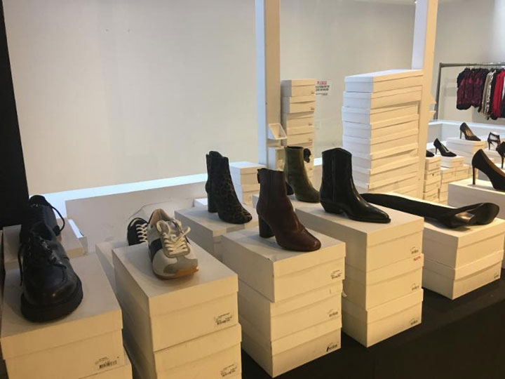 Sandro Sample Sale Footwear