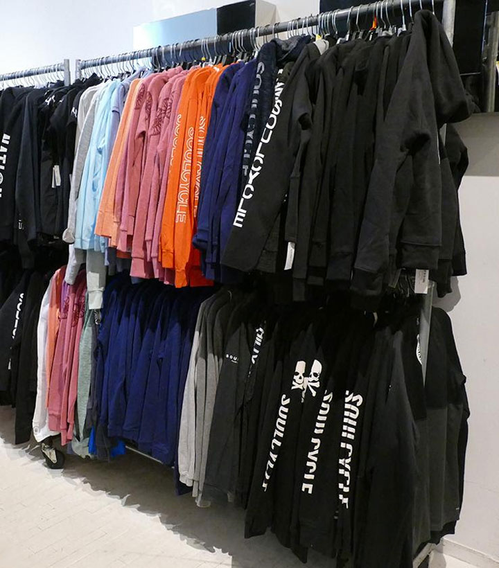 SoulCycle Sample Sale Jackets