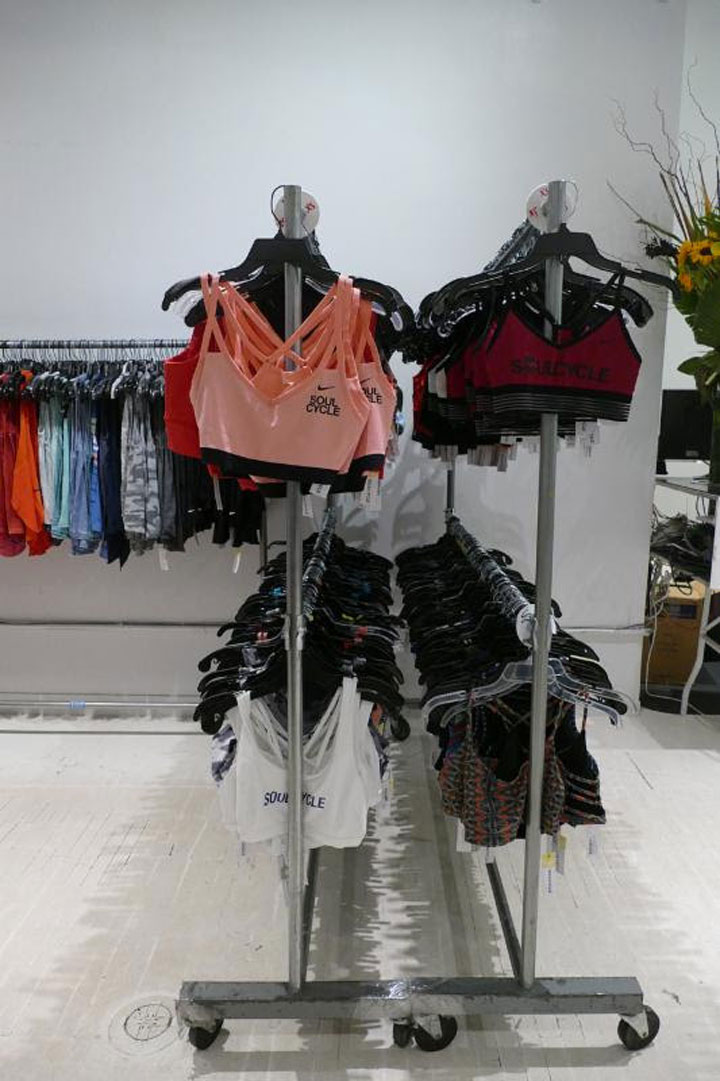 SoulCycle Sample Sale Sport Bras