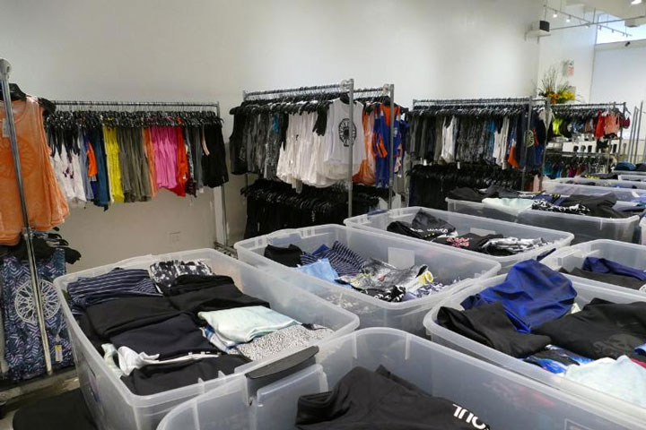Pics from Inside the SoulCycle Sample Sale