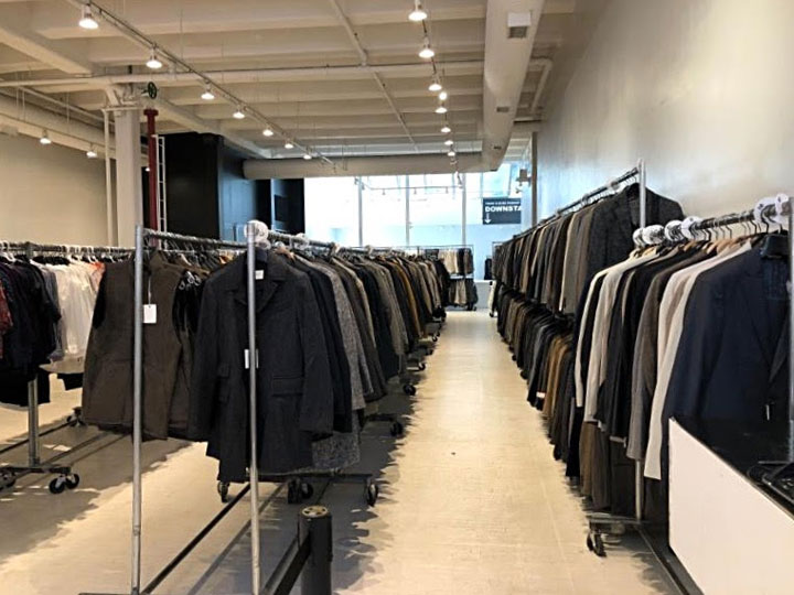 Pics from Inside the Steven Alan + Billy Reid + FEIT Sample Sale
