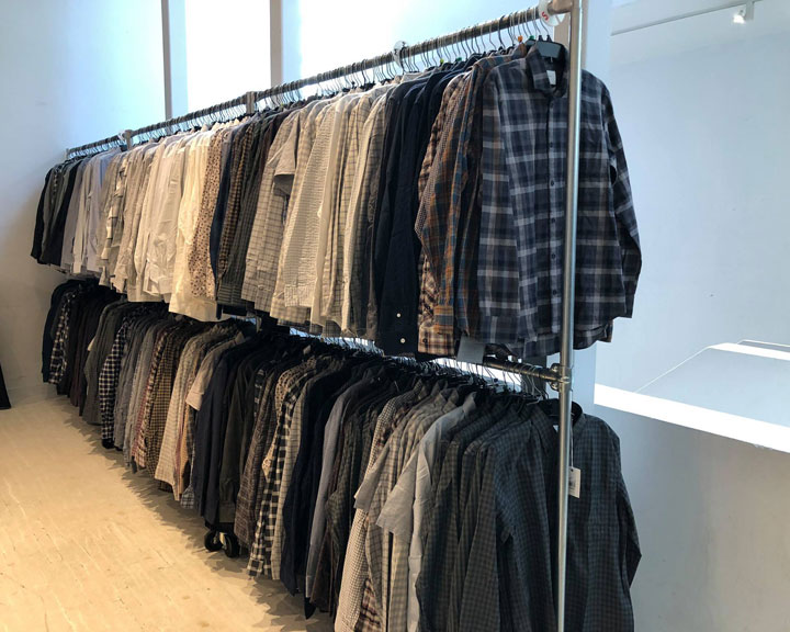 Steven Alan + Billy Reid + FEIT Sample Sale Shirts
