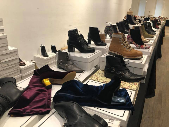 Tabitha Simmons Sample Sale Boots