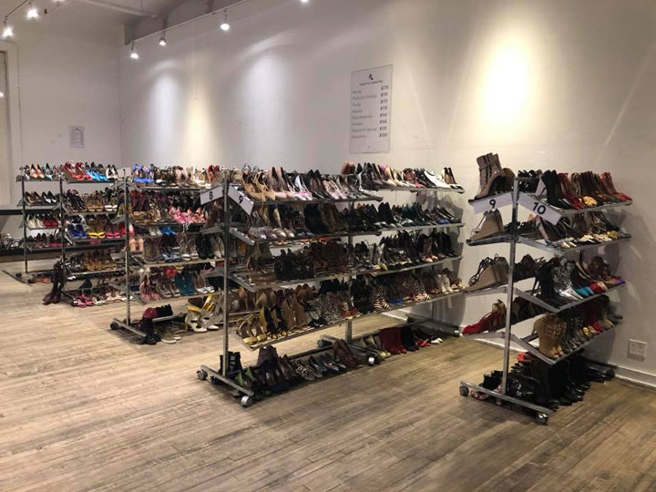 Tabitha Simmons Sample Sale Footwear