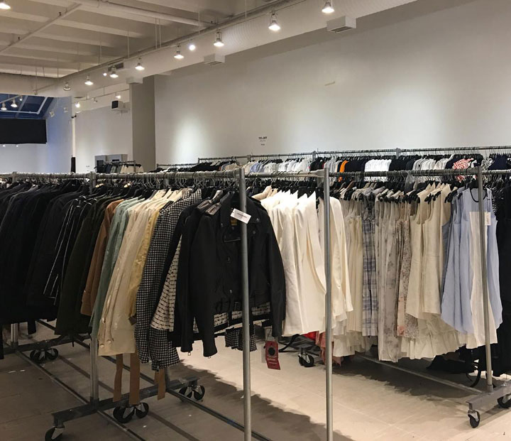 Pics from Inside The Line Sample Sale