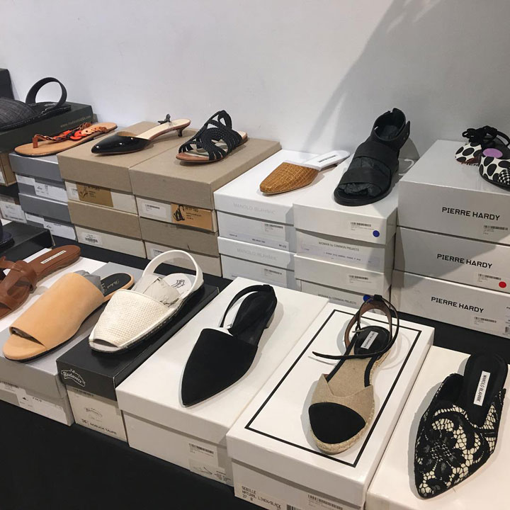 The Line Sample Sale Footwear Pierre Hardy