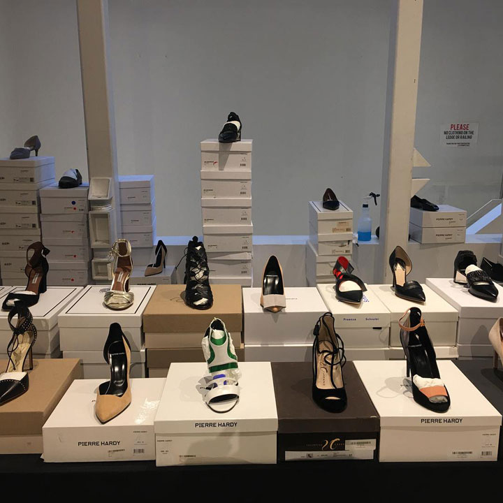 The Line Sample Sale Footwear