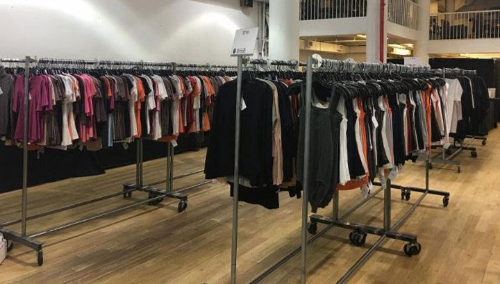 Pics from Inside the Wolford Sample Sale
