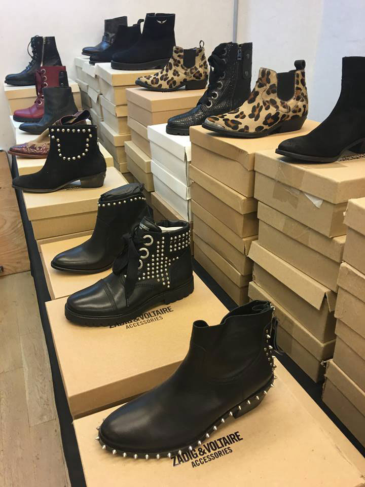 Zadig & Voltaire Sample Sale Boots