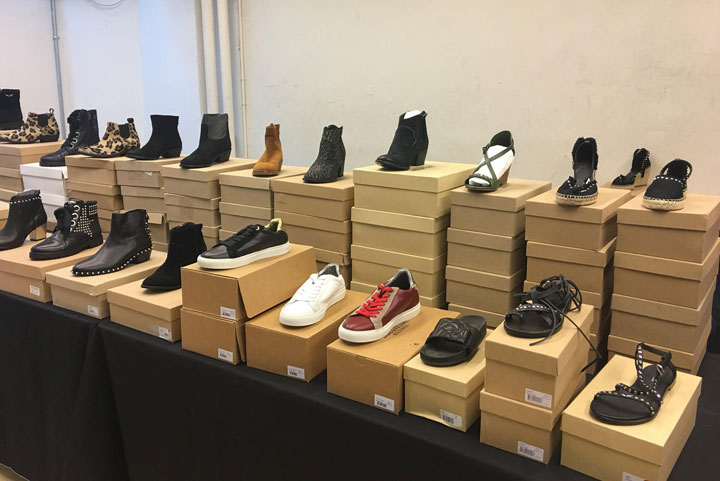 Zadig & Voltaire Sample Sale Footwear