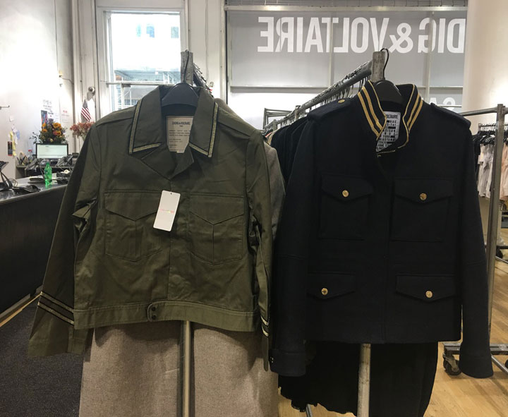 Zadig & Voltaire Sample Sale Jacket