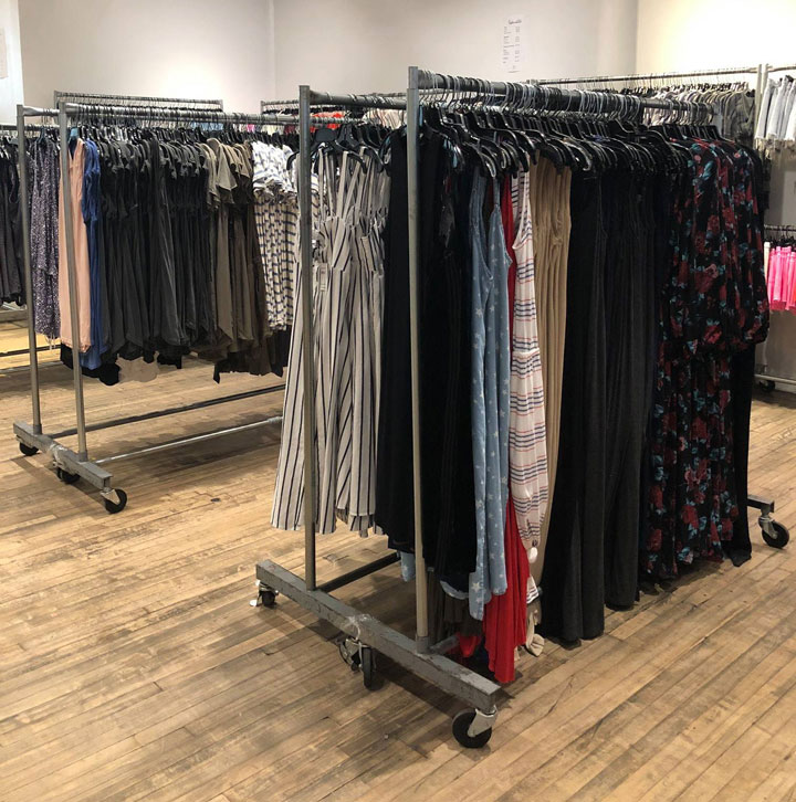 260 x Splendid Sample Sale Dresses