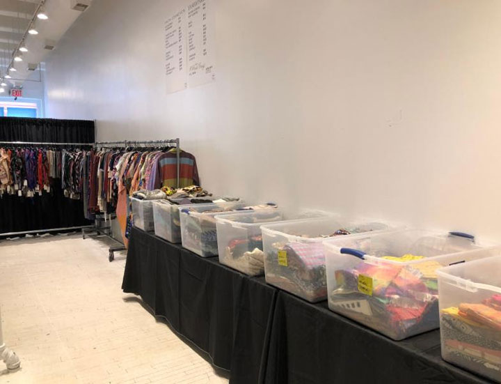 Pics from Inside the Faith Connexion + A Peace Treaty + Fashionkind Sample Sale
