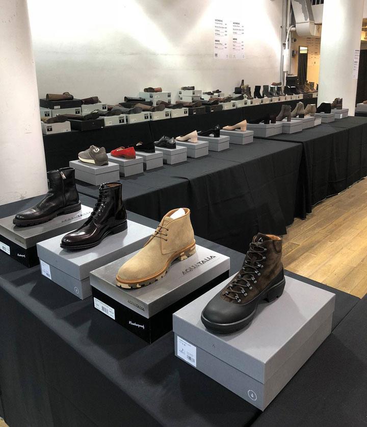 Aquatalia Sample Sale Shoes