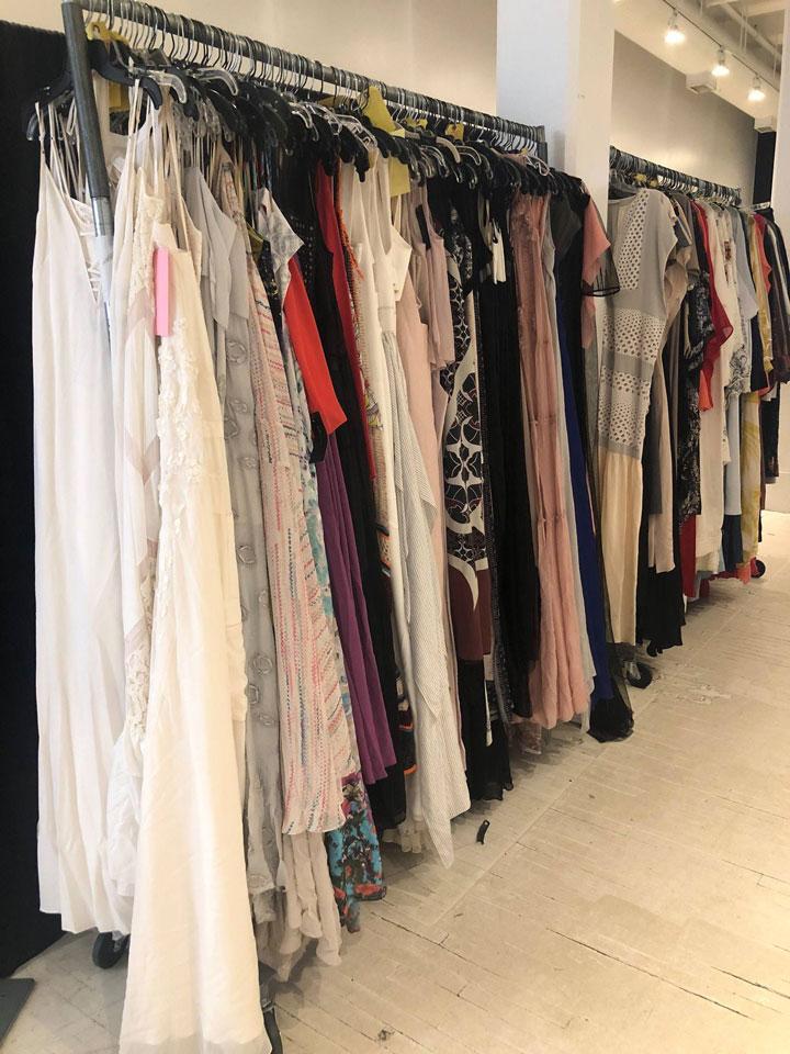 BCBGMAXAZRIA Sample Sale Gowns