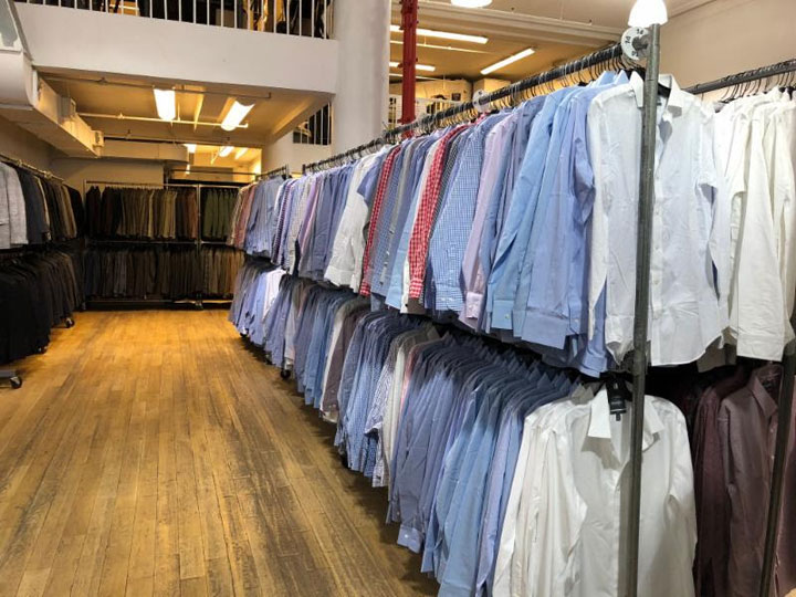 Superdry Sample Sale Shirts