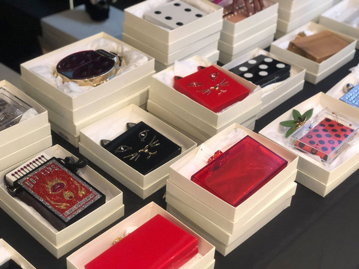 Charlotte Olympia Sample Sale Accessories