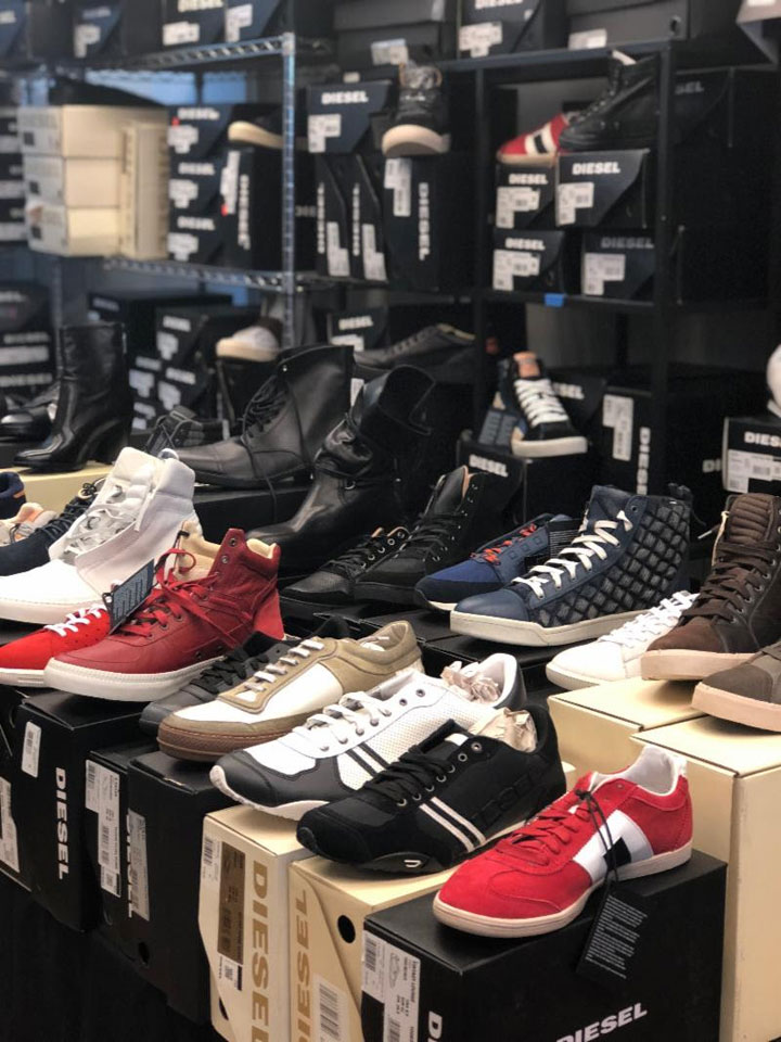 Diesel Sample Sale Footwear