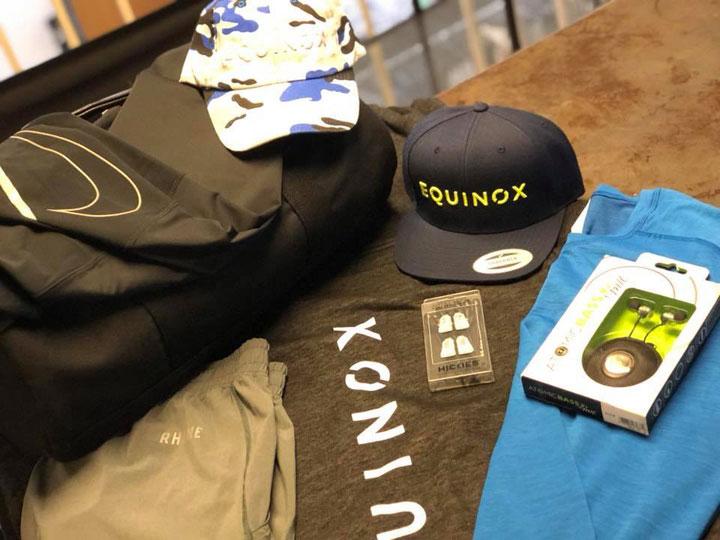 Equinox Sample Sale Accessories