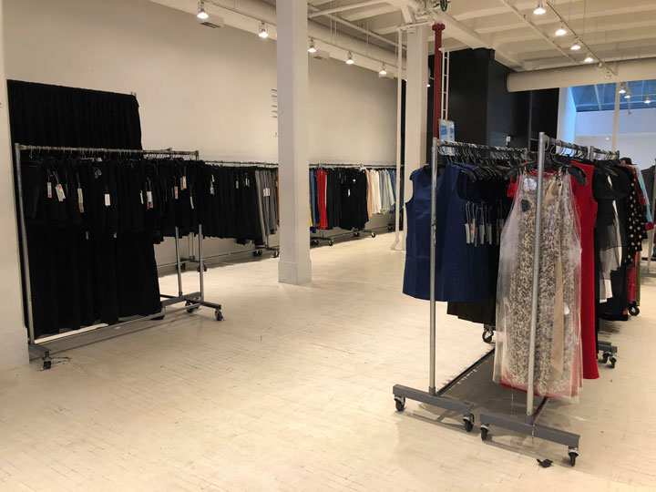 Pics from Inside the Fivestory New York Off Site Sale