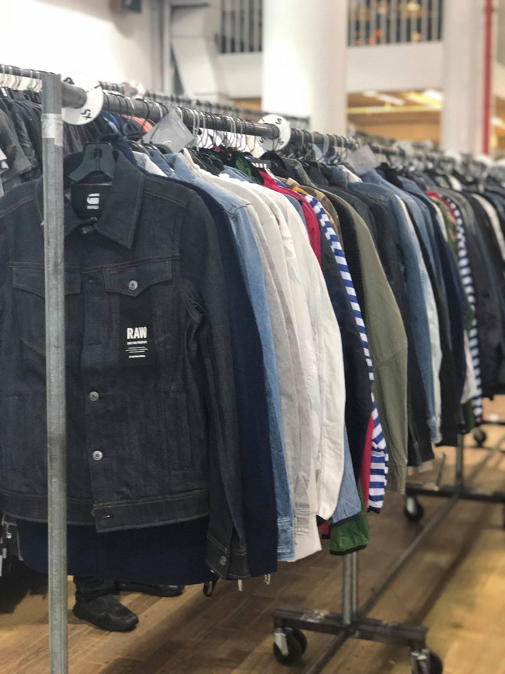 G-Star RAW Sample Sale Apparel