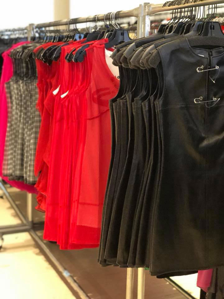 Helmut Lang Sample Sale Dresses