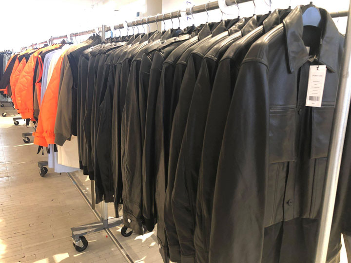 Helmut Lang Sample Sale Jackets