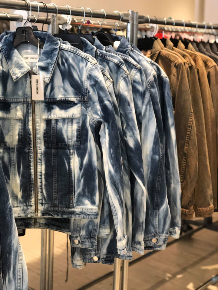 Helmut Lang Sample Sale Menswear